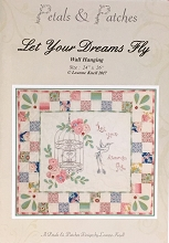Petals and Patches - Let Your Dreams Fly Mini Quilt/Wall Hanging Pattern