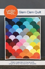 Glam Clam Bundle - Quilt Pattern and Acrylic Template