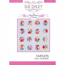 Sue Daley - Tartlets Little Things Wall Hanging Pattern and Template Pack