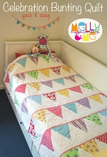 Melly and Me - Celebration Bunting Quilt Pattern