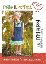 Make It Perfect - Little Mini Poppy Tunic Pattern Size 6mths-5yrs