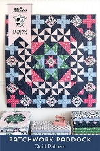 Riley Blake Designs - Derby Day - Patchwork Paddock Quilt Kit