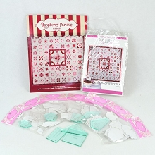 Sue Daley Designs Raspberry Tea / Infusion Quilt Book, Templates and Papers Pack