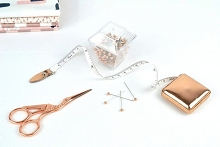 Rose Gold Sewing Essentials Gift Boxed Set