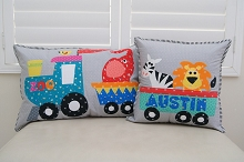 Sew Along - Zoo Train Cushion Set Pattern