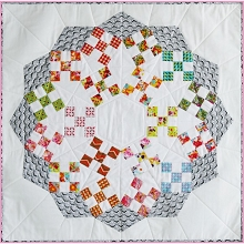 Sue Daley - Sweet and Sour Wall Hanging Pattern and Templates Pack