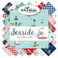 Riley Blake Designs - Seaside - Half Metre Bundle of 24 Pieces