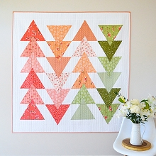 Down Grapevine Lane - Summer Stroll Quilt Pattern featuring Summer Blush Fabric