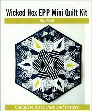 Andover - True Love by Libs Elliott - The Wicked Hex Mini Quilt Kit
