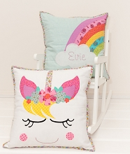 Tied With A Ribbon - Unicorn Dreams Pillow Patterns
