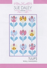 Sue Daley - Tulips Wall Hanging Pattern and Template Pack