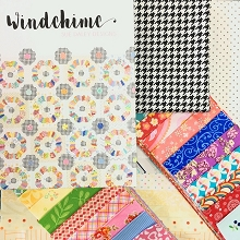Sue Daley's - Windchime Block of the Month