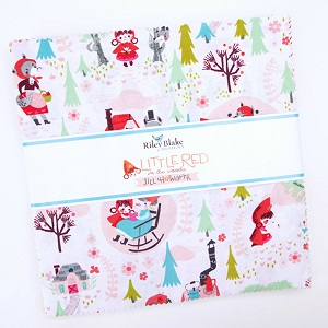 Riley Blake Designs - Little Red in the Woods - 10 Inch Stacker 42 Pieces