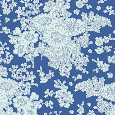 Tilda - Sunkiss - Imogen in Blue*** FAT QUARTER ***