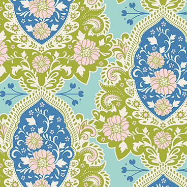 Tilda - Sunkiss - Charlotte in Blue *** FAT QUARTER ***