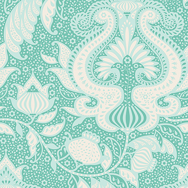 Tilda - Sunkiss - Ocean Flower in Teal