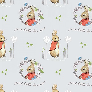 Craft Cotton Company Peter Rabbit Flopsy Mopsy