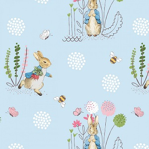 Craft Cotton Company Peter Rabbit Peter Rabbit in Blue
