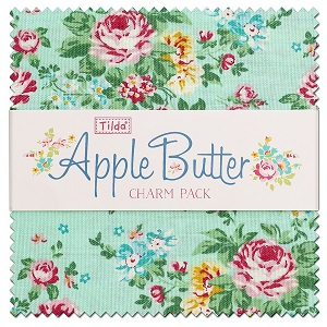 Tilda Apple Butter - Charm Pack of 40 pieces