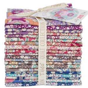Tilda Plum Garden - Fat Eighth Bundle of 20 fabrics