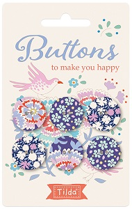 Tilda - Bird Pond - Buttons to make you happy 20mm