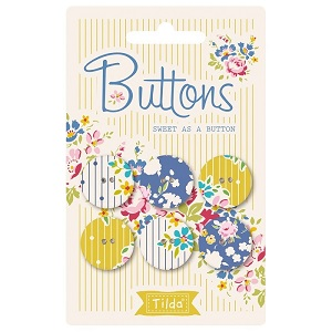Tilda Apple Butter - Buttons Sweet as a Button 20mm