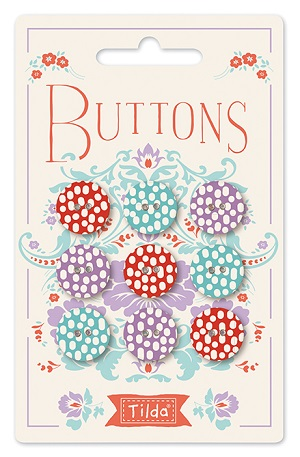 Tilda LazyDays - Buttons 15mm