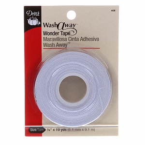 Dritz Wash Away Wonder Tape 1/4in x 10yds