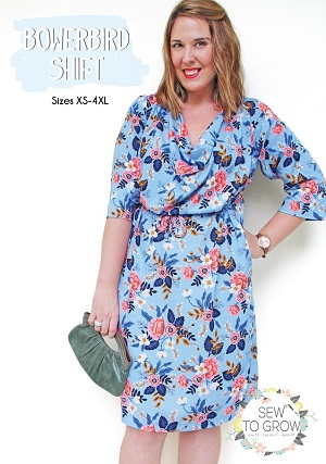 Sew to Grow Patterns - Bowerbird Shift