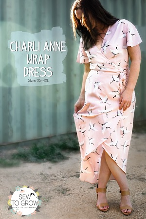 Sew to Grow Patterns - Charli Anne Wrap Dress