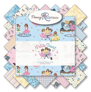 Penny Rose Fabrics - Petite Treat - 5 Inch Stacker 42 Pieces