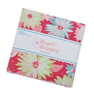 Riley Blake Designs Paper Daisies 5 Inch Stacker 42 Pieces