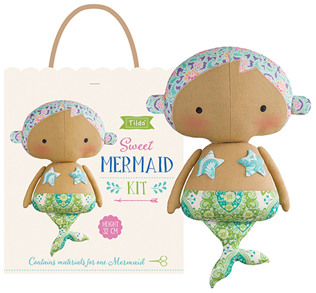 Tilda - Sunkiss - Mermaid Doll Kit