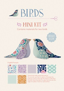 Tilda - Bird Pond - Mini Kit Decorative Birds *** MORE ARRIVING OCTOBER - SIGN UP TO THE WAITING LIST ***