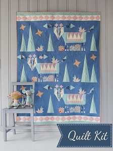 Tilda - Bird Pond - Winter Mountain Holiday Quilt Kit