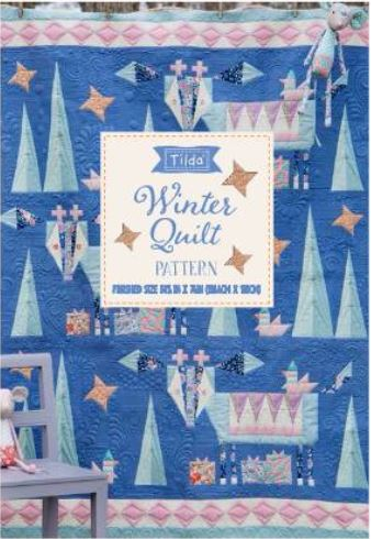Tilda - Bird Pond - Winter Mountain Holiday Quilt Pattern