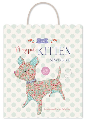 Tilda LazyDays - Sewing Kit Playful Kitten