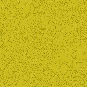 Andover Fabrics - Sun Print 2020 Stitched in Chartreuse