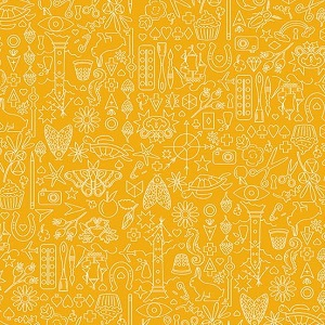 Andover Fabrics - Sun Print 2019 Collection in Pencil