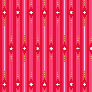 Andover Fabrics Holiday Ribbon in Peppermint