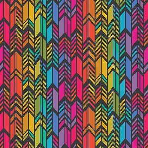 Andover Fabrics Art Theory Rainbow Feather Night *** PRE-ORDER - ARRIVING NOVEMBER 2020 ***