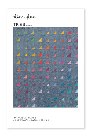 Alison Glass - Tres Quilt Pattern