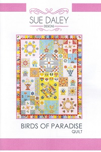 Sue Daley Designs - Birds of Paradise Quilt