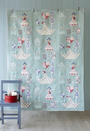 Tilda Old Rose Brave Tin Soldier Quilt Kit