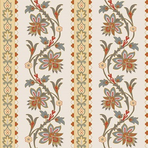 Riley Blake Designs - French Courtyard Border in Yellow