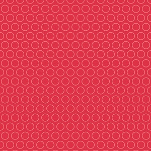 Riley Blake Designs - Just Dreamy 2 Circles in Red