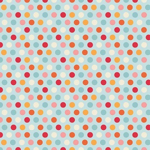 Riley Blake Designs - Just Dreamy 2 Dots in Blue
