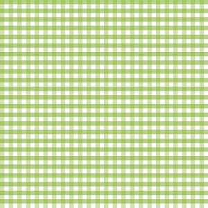 Riley Blake Designs - 1/4 Inch Medium Gingham in Green