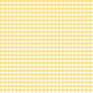 Riley Blake Designs - 1/4 Inch Medium Gingham in Yellow