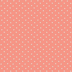 Riley Blake Designs - Sew Charming Rosebuds in Coral